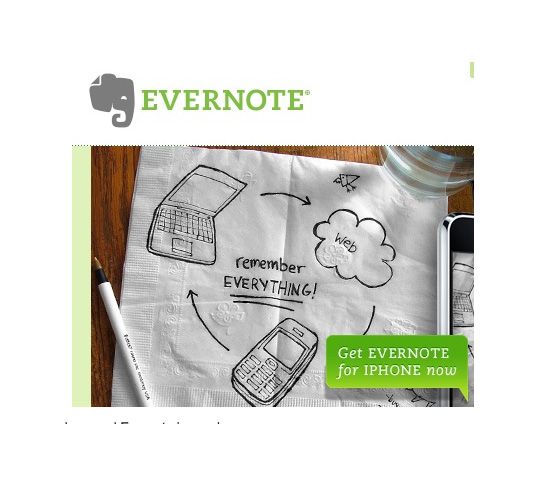 Evernote For Your Phone