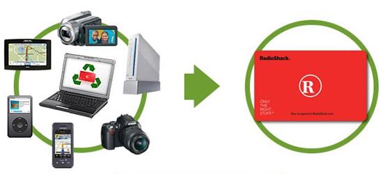 Radio Shack Launches Gadget Recycling Program
