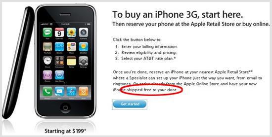 Daily Tech: Get an iPhone 3G, Shipped to Your House