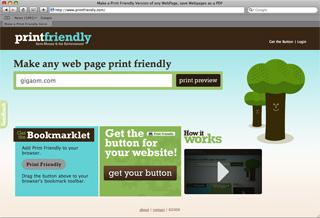 PrintFriendly Makes Any Webpage Easily Printable