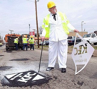 KFC Patches Up Potholes With New Fresh Tastes Best Campaign