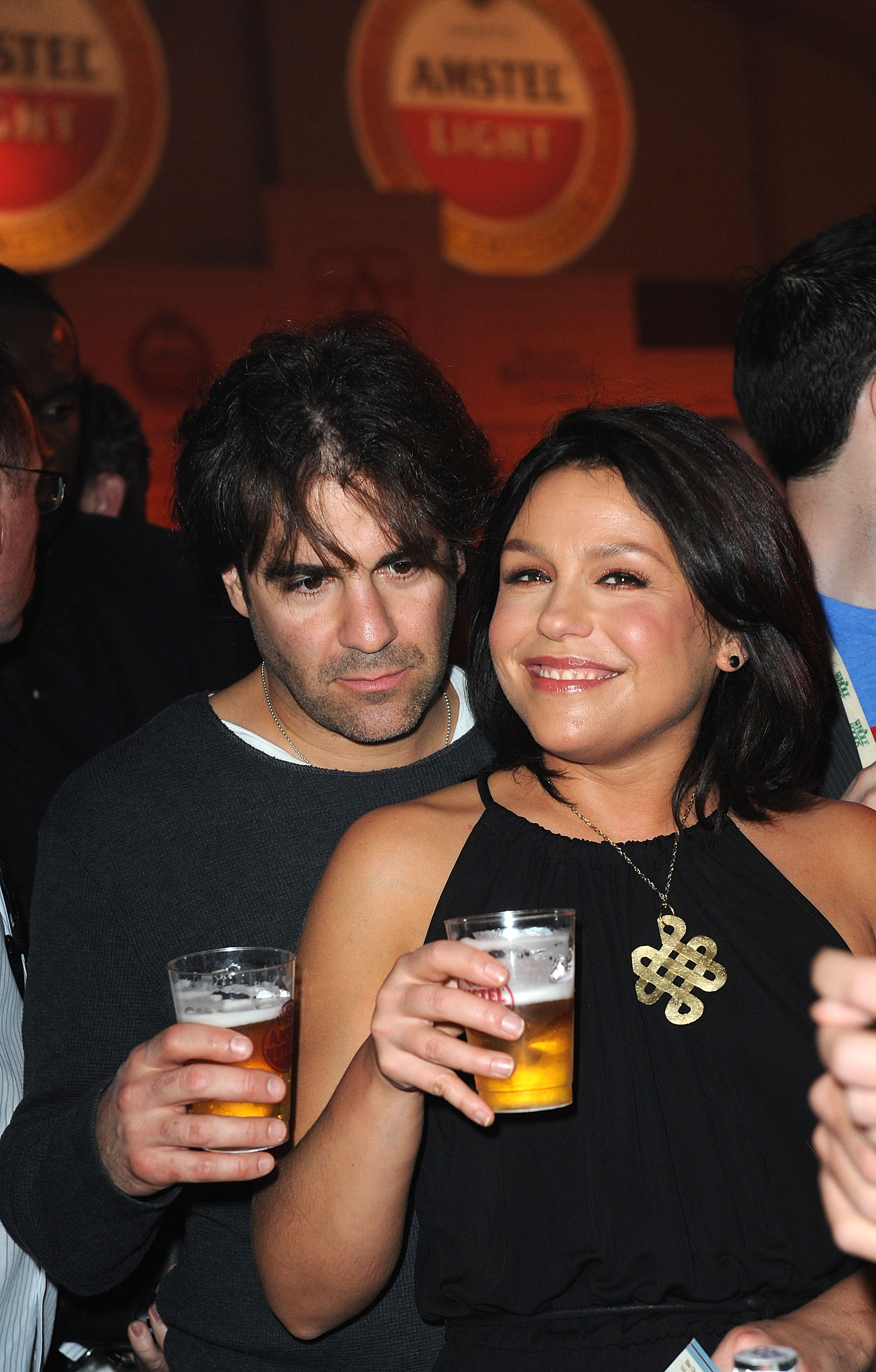 Rachael Ray and her hubbie