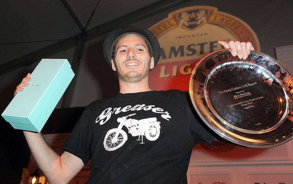 The new Burger Bash winner, Spike Mendelsohn