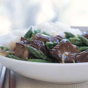 Fast & Easy Dinner: Beef and Asparagus Stir-Fry