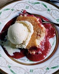 Recipe For Warm Strawberry Crumb Cake