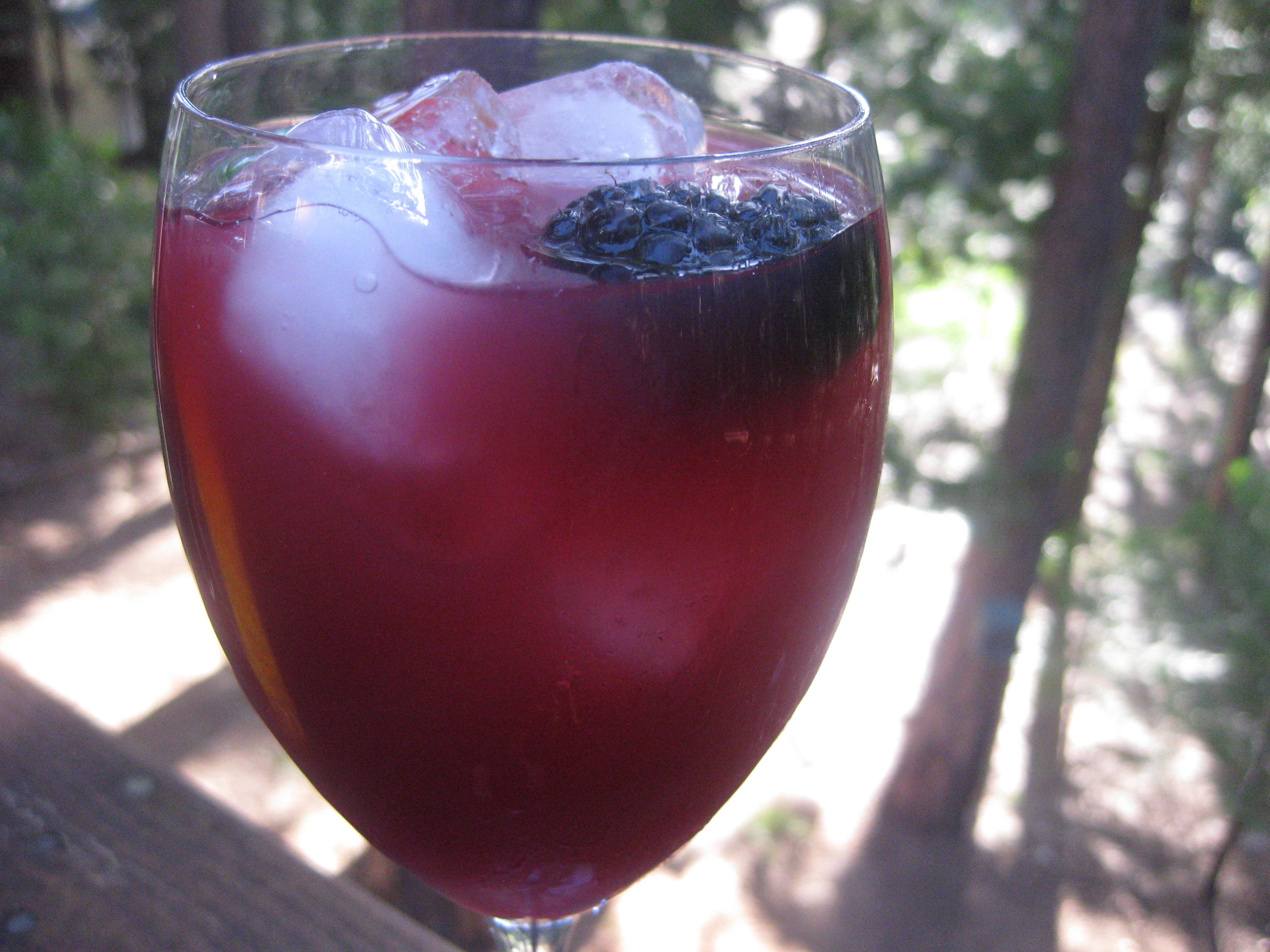 Recipe For Blackberry and Cabernet Caipirinha | POPSUGAR Food