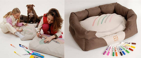 Make Your Picasso Pooch a DIY Coloring Bed