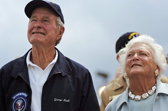 Front Page: First Lady Barbara Bush Has Open-Heart Surgery