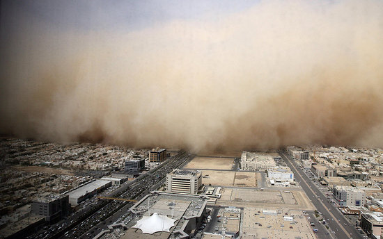 Picture It: A Saudi Sandstorm's a Brewin'
