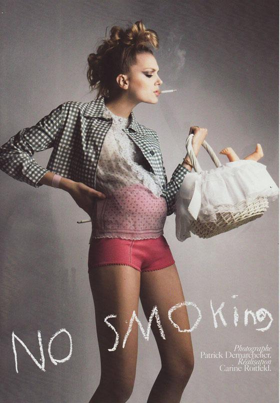 French Vogue's Take on Motherhood