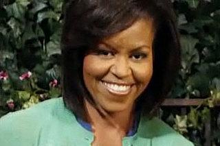 Michelle Obama Meets Big Bird on Sesame Street