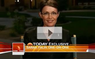Sarah Palin Attacks David Letterman For Joke on Today Show