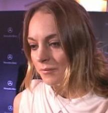 Lindsay Lohan Spray Tanning Line Interview