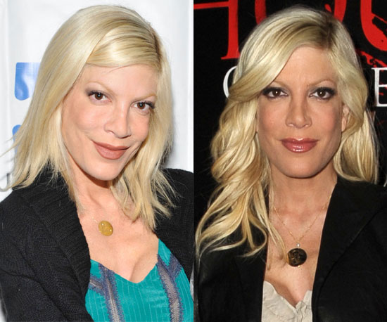 How do you prefer Tori Spelling's hair?