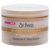 Review of St. Ives Moisturizing In-Shower Exfoliating Body Polish, Oatmeal & Shea Butter