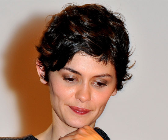 Audrey Tautou  Seven Ways to Wear a Wavy Pixie Cut  POPSUGAR Beauty