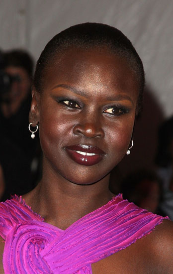 How-To: Alek Wek's Makeup at the Met's Costume Institute Gala