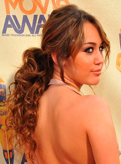 Miley Cyrus at MTV Movie Awards 2009
