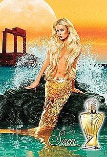 Paris Hilton Siren Mermaid Ad Photo: Details on Paris's New Perfume, Siren