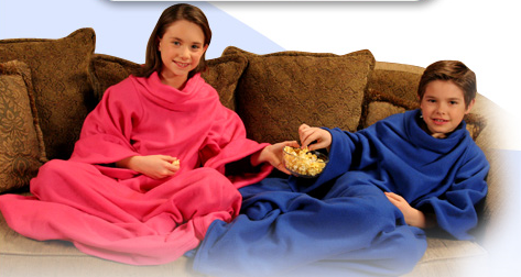 Snugglette, A Snuggie For Kids