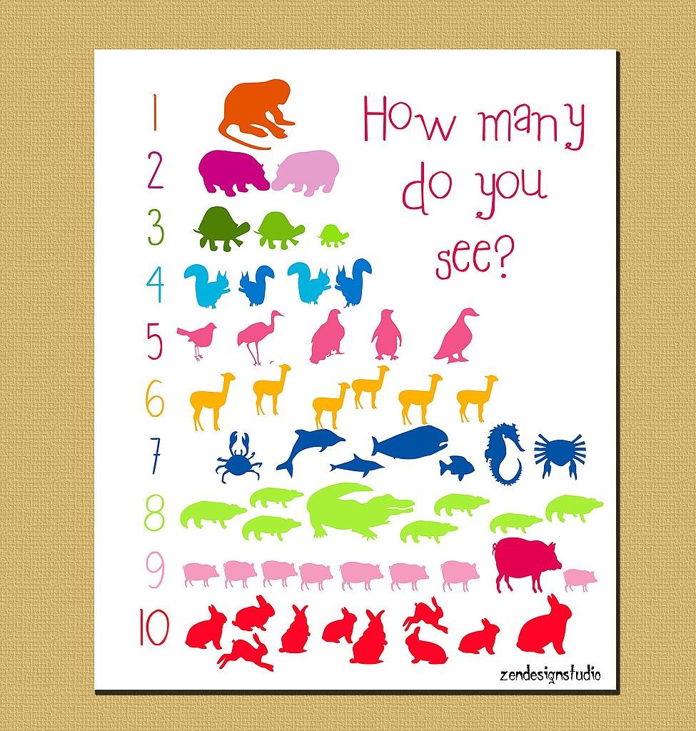 Animal Cracker 123 Poster