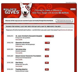Target Bullseye Gives Allows Public to Determine Giving