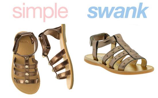 Gladiator Sandals for Kids