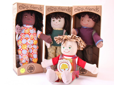 The Earth Friends Eco-Friendly Dolls