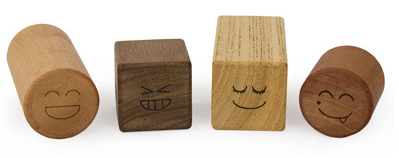 Lil Find: Wooden Blocks Rattle Set