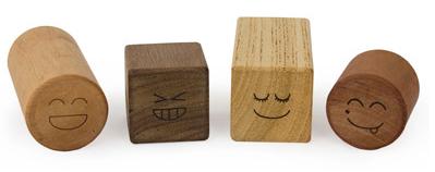 Lil Find: Wooden Blocks Rattle Set