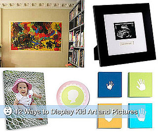 12 Ways to Display Kid Art and Pictures