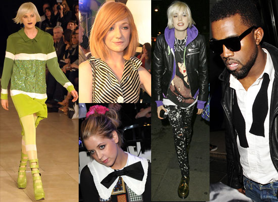 Photos Of Agyness Deyn, Henry Holland, Kanye West, Peaches Geldof, Nicola Roberts, Will Young At House Of Holland Show— 2009 LFW