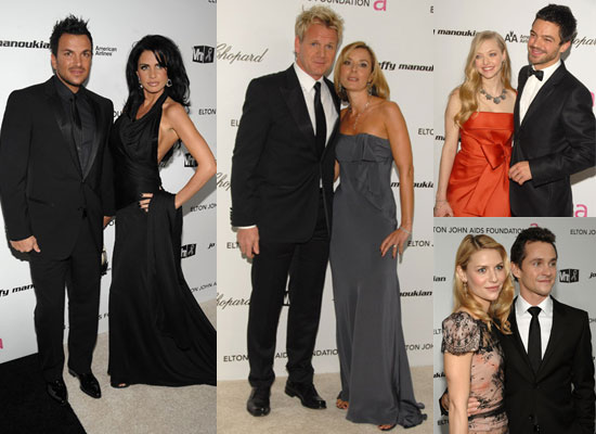 Photos of Elton John's Oscars Party Featuring Jordan, Peter Andre, Gordon Ramsay, Victoria Beckham, Claire Danes, Hugh Dancy