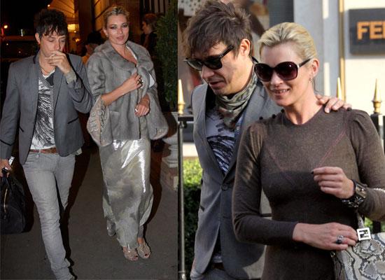 Kate and Jamie Focus On Fendi At Fashion Week