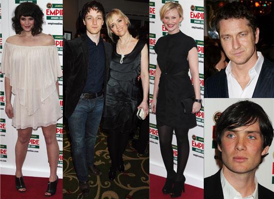 Photos From 2009 Empire Film Awards Including James McAvoy, Gemma Arterton, Joanna Page, Anne Marie Duff, Gerard Butler etc