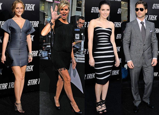 Photos From The US Star Trek Premiere Including Chris Pine, Zachary Quinto, Eric Bana, Winona Ryder, Leighton Meester and more