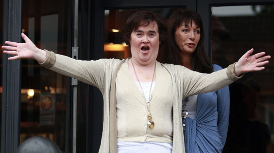 Roundup Of The Latest Entertainment News Stories — Susan Boyle Is Ready to Start Britain's Got Talent Tour