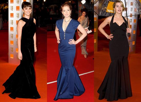 Trend Alert: BAFTA Award Mermaid Dresses