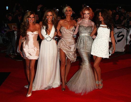 Girls Aloud at the 2009 Brit Awards