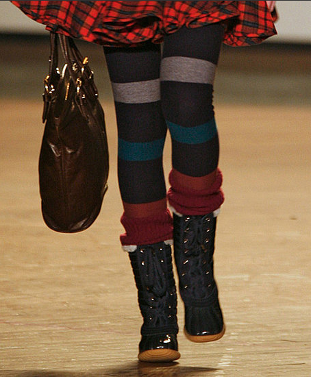 Autumn 2009 Trend Alert: Funky Tights