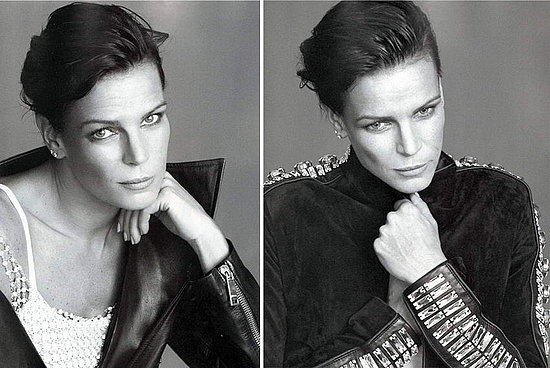 Stephanie de Monaco does Vogue Paris dec/jan 08-09