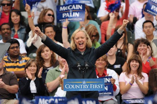 How Republican Meg Whitman Plans on Winning Women's Vote