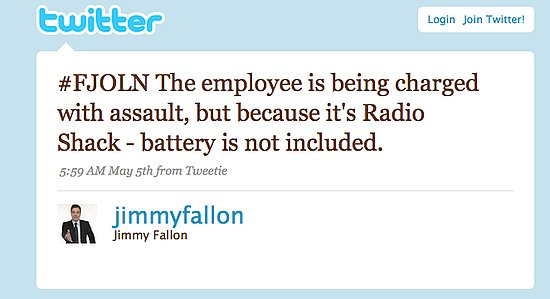 Tweet Nothings: Jimmy Fallon