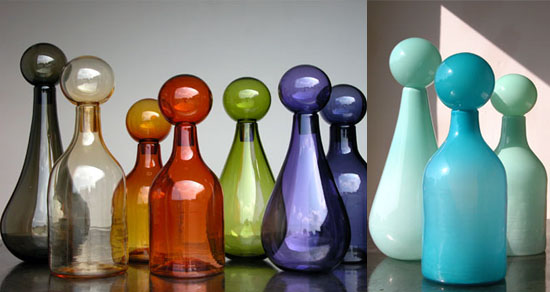 Crave Worthy: Elizabeth Lyons Glass Decanters