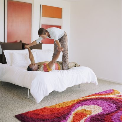 Found It! Stock Photography Bed
