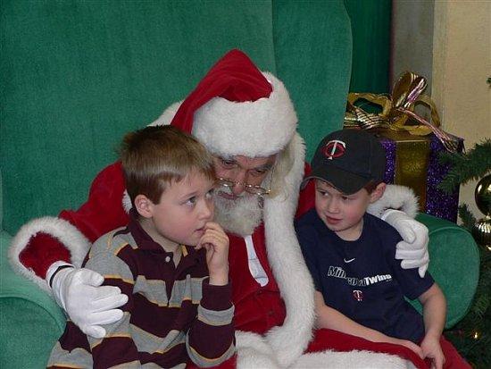 Conspiring with Santa!