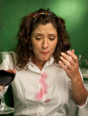 Removing Wine Stains