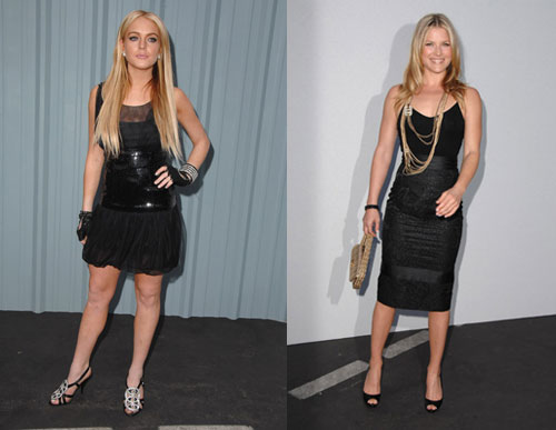 Battle of the Chanel: Lohan vs. Larter