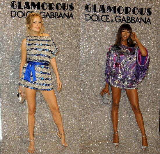 Battle of the Dolce & Gabbana: Nemcova vs. Campbell