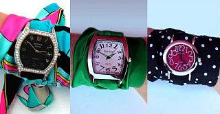 Fabworthy: Jacqui Chazen Silk Watches